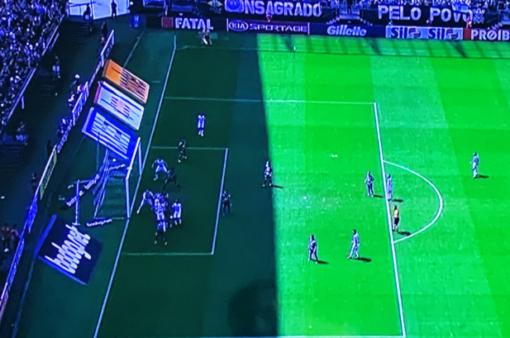 Gol anulado Corinthians x Ceará