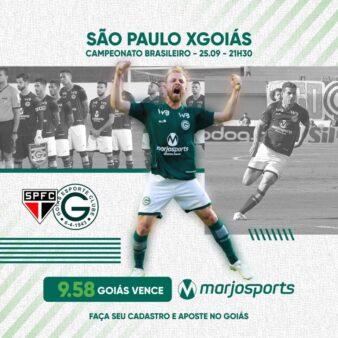 São Paulo x Goiás
