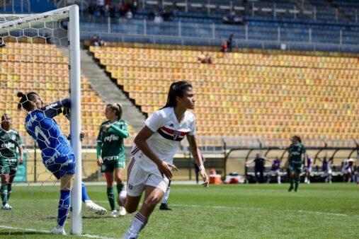 São Paulo x Palmeiras futebol feminino