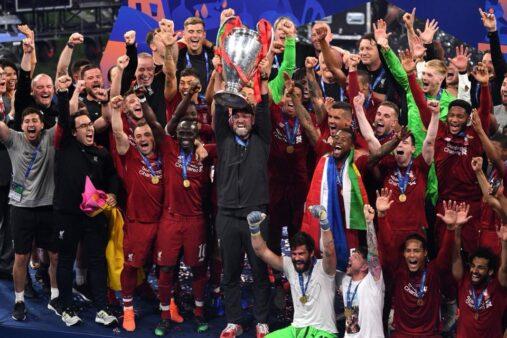 Liverpool é o atual vencedor da Liga dos Campeões