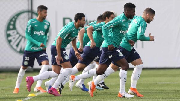 Treino Palmeiras Brasileirão