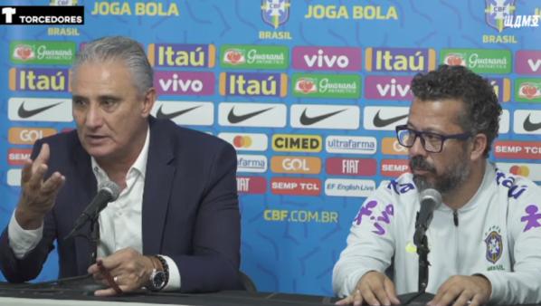 Tite criticou condições do estádio onde o Brasil foi derrotado pelo Peru.