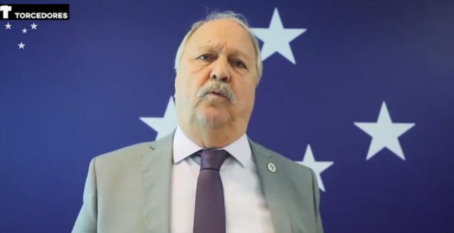 Presidente do Cruzeiro deu fortes declarações na web.