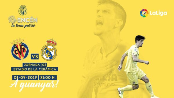 Villarreal x Real Madrid