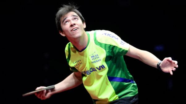 Hugo Calderano Tenis de mesa Brasil