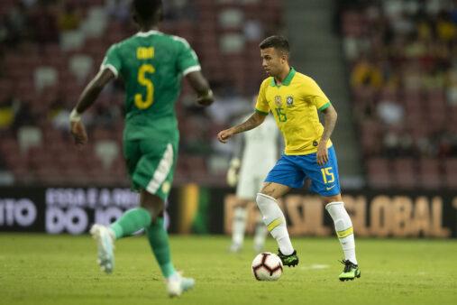 Matheus Henrique minimizou falha em estreia pela seleção brasileira.