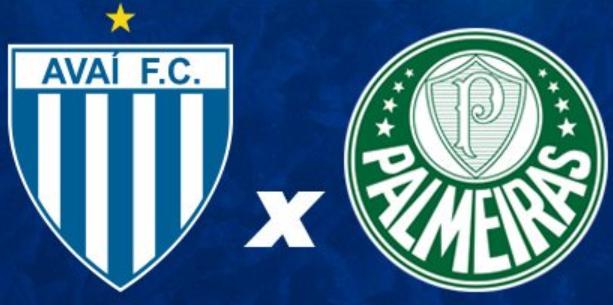 Resultado de imagem para Avaí x Palmeiras
