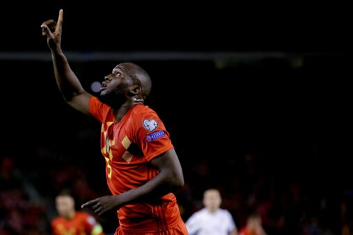 Bélgica x San Marino gols Eliminatórias Eurocopa