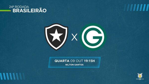 Botafogo x Goias