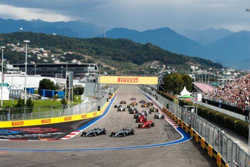 Reprodução / Facebook Oficial Fórmula 1