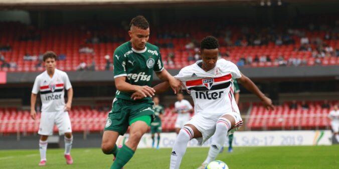 São Paulo 3 x 2 Palmeiras, Copa do Brasil Sub-17 de 2019 (Foto: Fernando Torres/ Site oficial CBF)