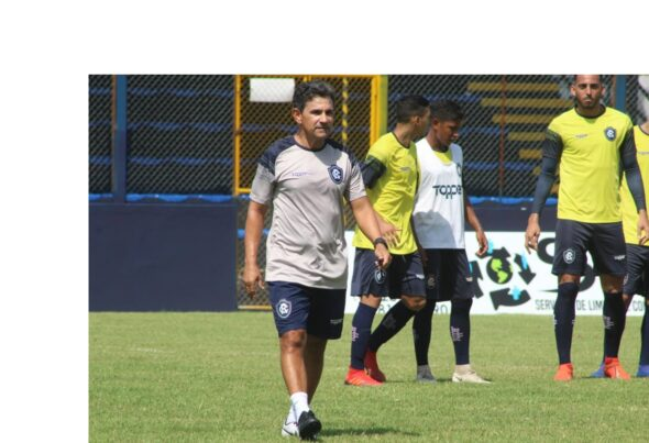 Eudes Pedro não está garantido como técnico do Remo, em 2020 - imagem: Samara Miranda/ascom Remo