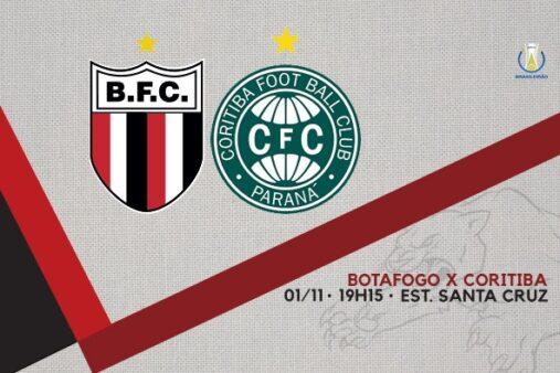 Botafogo-SP x Coritiba, Brasileirão Série B 2019 (Reprodução/ Facebook oficial Botafogo-SP Futebol SA)