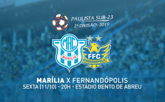Marília x Fernandópolis, Paulista Segunda Divisão 2019 (Reprodução/ Facebook Marília AC)