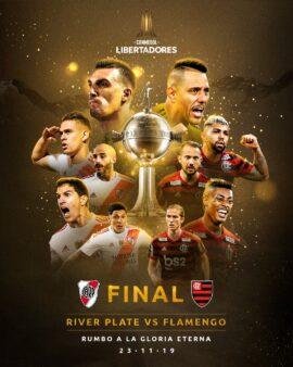Enquete Flamengo x River Plate