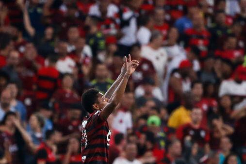 Vitinho em Flamengo x Atlético-MG