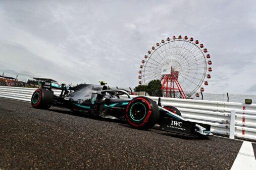 GP do Japão de F1 vem tendo Bottas como mais veloz