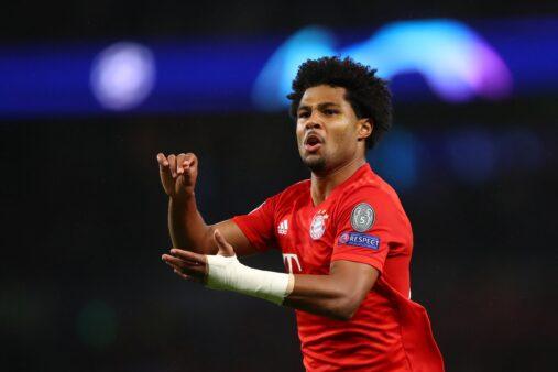 Gnabry melhor jogador semana Champions League