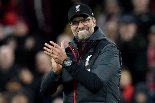 Klopp performance Liverpool diante do Tottenham