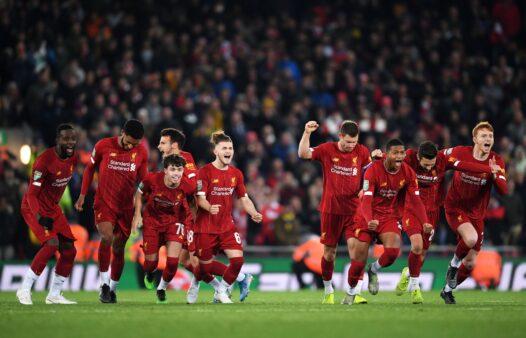Gols Liverpool x Arsenal