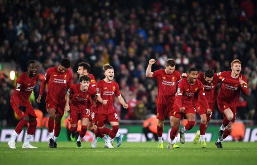 Liverpool x Arsenal - Copa da Liga Inglesa - Premier League