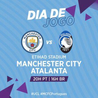 Manchester City x Atalanta - Liga dos Campeões