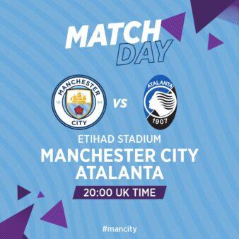 Manchester City x Atalanta