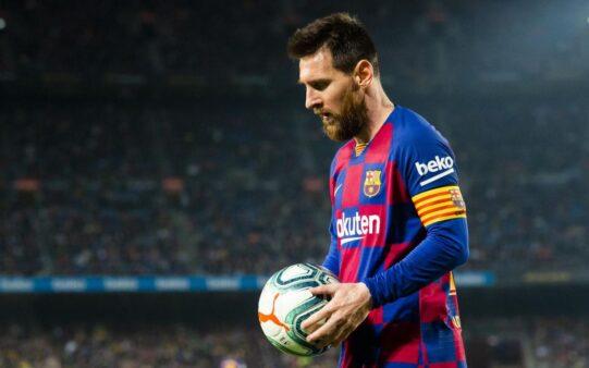 Messi ainda não renovou com o Barcelona.