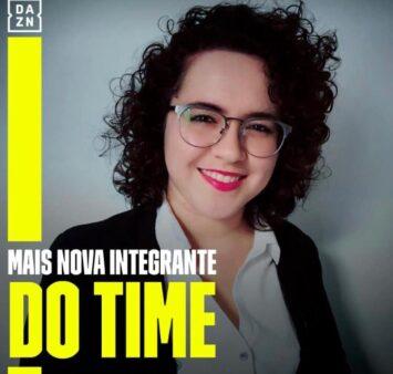 Natalia Lara é anunciada pelo DAZN