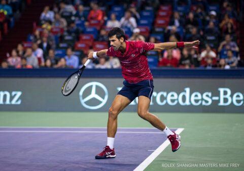 Djokovic, Masters 1000 de Xangai