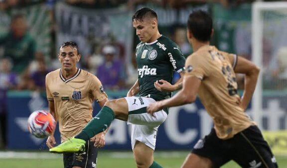 Santos x Palmeiras jogam na noite desta quarta (9)