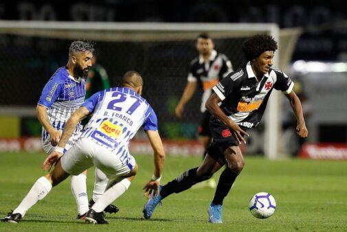 Próximo jogo Vasco após empate contra o Avaí Brasileirão