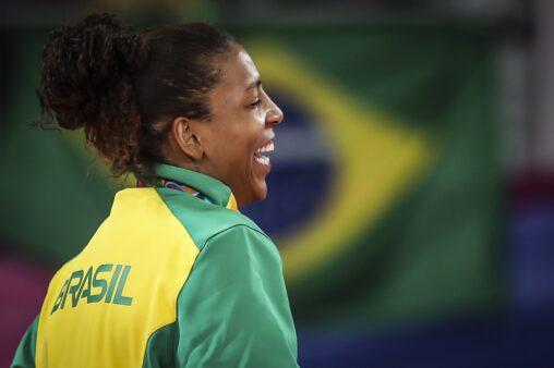 Rafaela Silva ouro