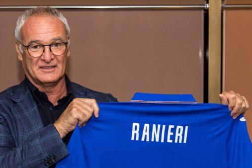 Ranieri apresentado na Sampdoria