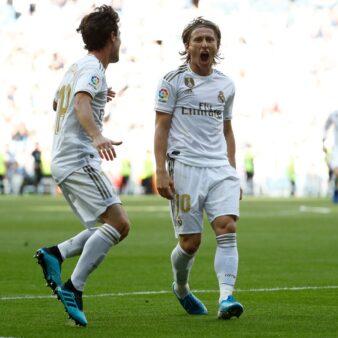 Real Madrid venceu e seguiu na liderança do Campeonato Espanhol.