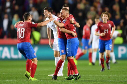 República Tcheca x Inglaterra melhores momentos Eliminatórias da Eurocopa