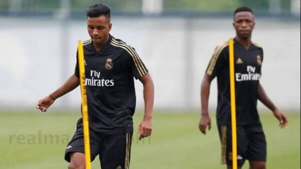 Rodrygo e Vinicius Jr. no Real Madrid