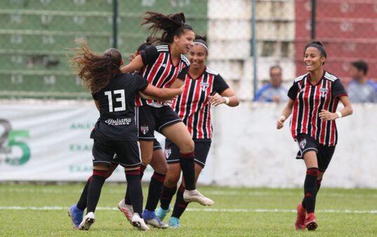 São Paulo decide o Brasileirão Feminino sub-18 contra o Inter