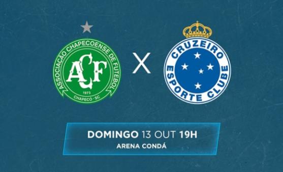 Chapecoense x Cruzeiro, Brasileirão Série A 2019 (Reprodução/ Facebook Brasileirão)