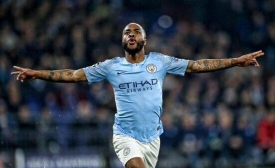Sterling Guardiola Manchester City