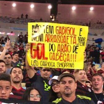 Torcedor em Flamengo x Atlético-MG