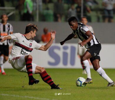 Atlético 2 x 1 Flamengo, Brasileirão Série A 2019 (Reprodução/ Twitter Atlético-MG)