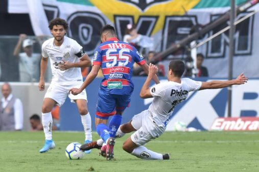 Santos x Fortaleza, Brasileirão Série A 2019 (Ivan Storti/ Flickr oficial Santos FC)