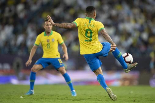 Gabriel Jesus na Seleção