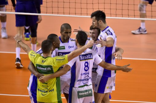 Cruzeiro x Volei Renata Superliga Masculina de Vôlei