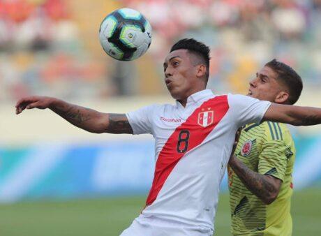 Peru x Colômbia