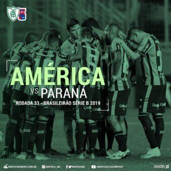 América-MG x Paraná