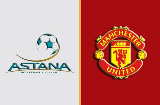 Astana x Manchester United Europa League