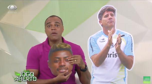 Denilson frisou atropelo do Flamengo sobre o Corinthians.