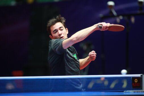 Copa do Mundo de Tênis de mesa Hugo Calderano